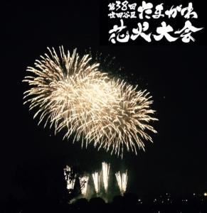 玉川花火大会の画像